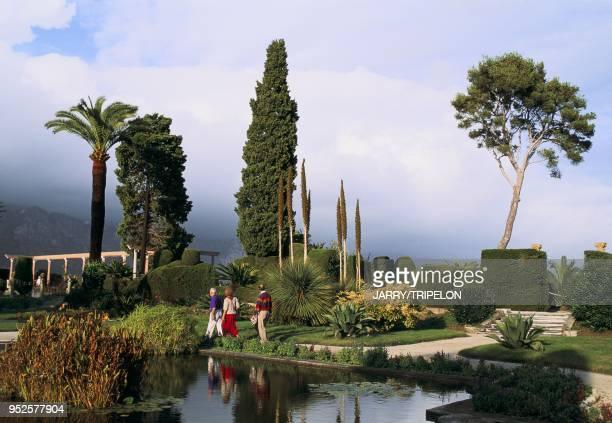 jardin de la Villa Ephrussi de Rothschild SaintJeanCapFerrat AlpesMaritimes région ProvenceAlpesCôte d'Azur France jardin de la Villa Ephrussi de...