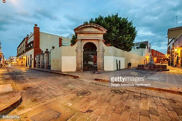 jardin del arte (garden of art) - queretaro, mexico - arte stock photos and pictures