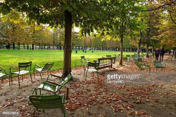 Jardin des Tuileries, 12 octobre 2015, Paris, France.