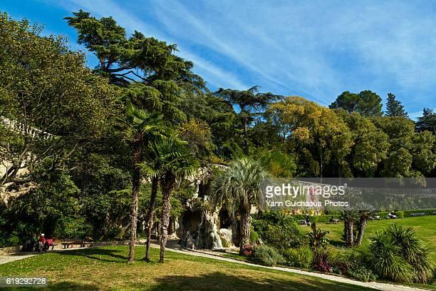 Jardins de la Fontaine, Nimes, Gard, France
