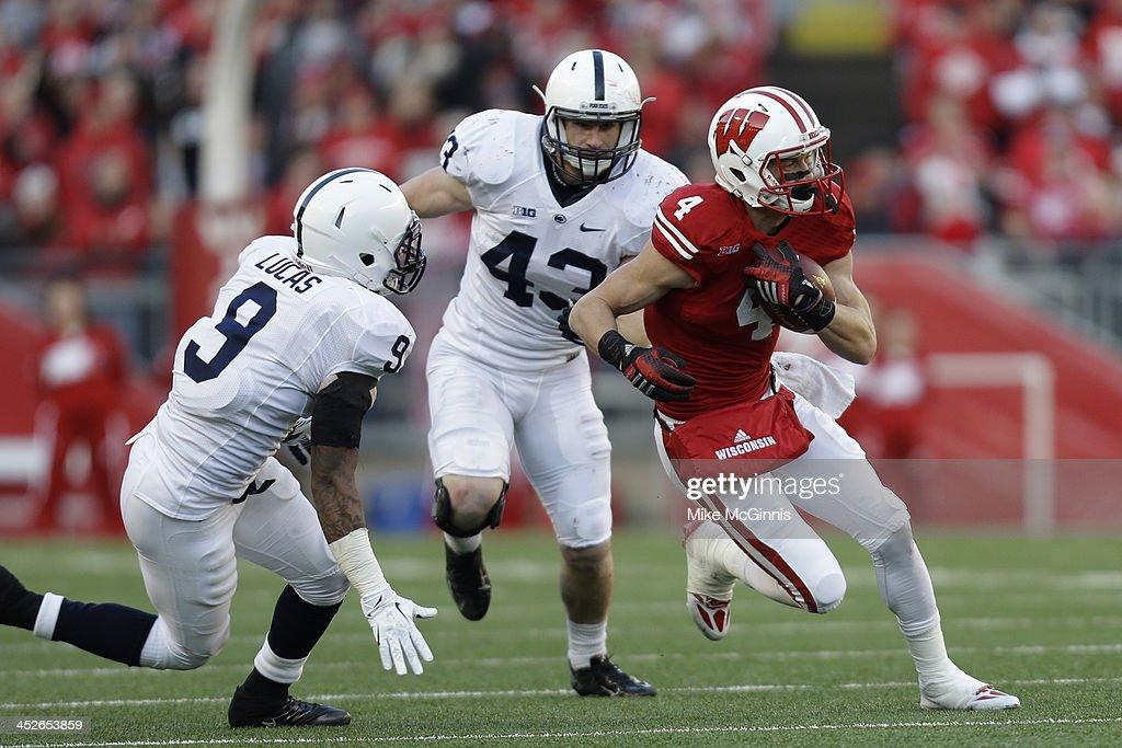 Penn State v Wisconsin : News Photo