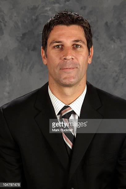 Jared Bednar of the St Louis Blues poses for his official headshot for the 20102011 NHL season September 17 2010 in St Louis Missouri