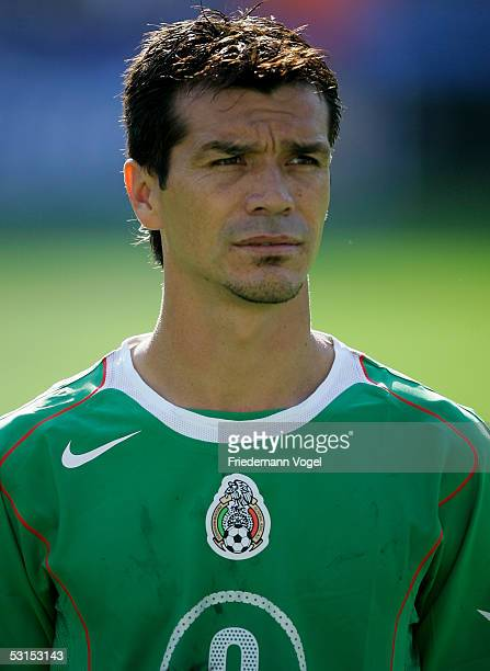 Jared Borgetti Of Mexico Befor The Semi Final Match Between Mexico And Argentina For The Fifa