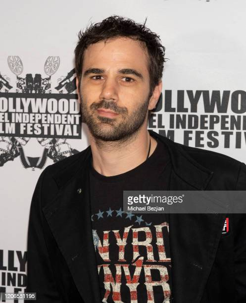 Jared Cohn arrives at A Dark Foe Film Premiere on February 15 2020 in Los Angeles California