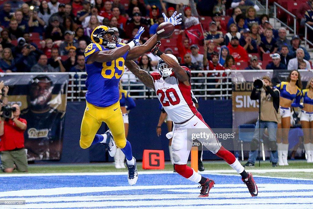 Arizona Cardinals v St Louis Rams : News Photo