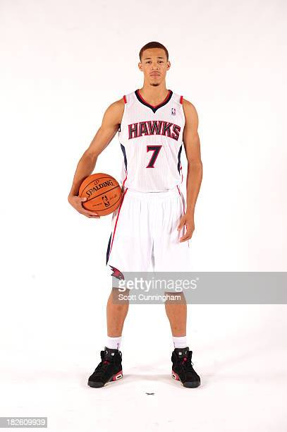 Jared Cunningham of the Atlanta Hawks poses for a portrait during NBA Media Day at Philips Arena on September 30 2013 in Atlanta Georgia NOTE TO USER...