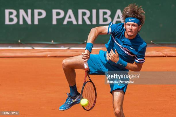 Jared Donaldson of USA during Day 4 for the French Open 2018 on May 30, 2018 in Paris, France.