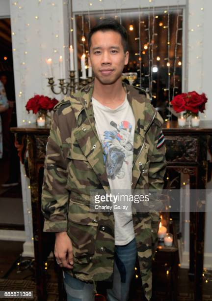 Jared Eng at The Kooples and Emily Ratajkowski LA Cocktail Event at Chateau Marmont on December 4 2017 in Los Angeles California