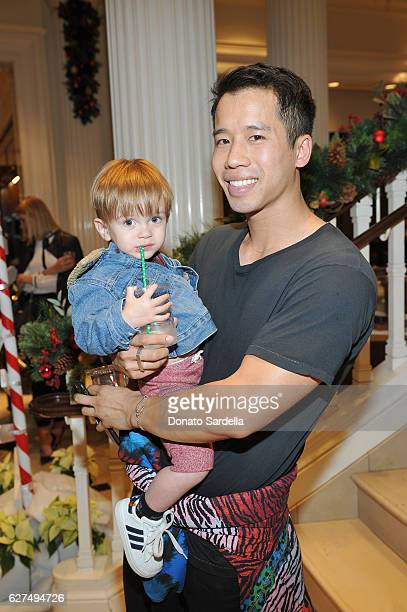 Jared Eng attends Brooks Brothers holiday celebration with St Jude Children's Research Hospital on December 3 2016 in Beverly Hills California
