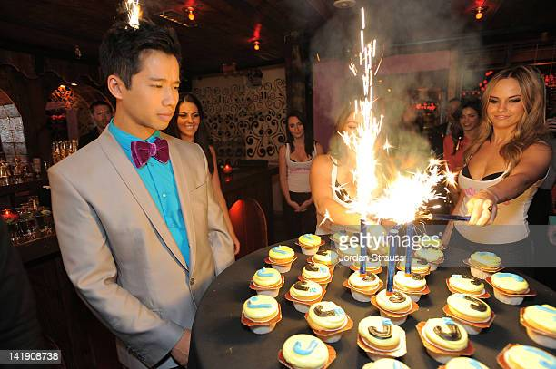 Jared Eng attends Just Jared's 30th at Pink Taco on March 23 2012 in Los Angeles California