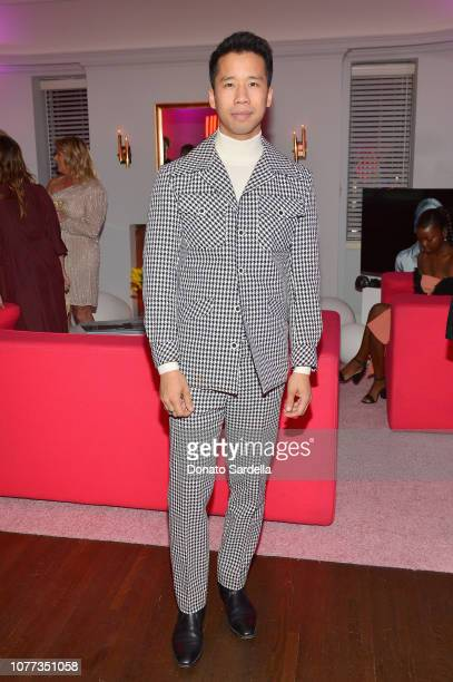 Jared Eng attends W Magazine Celebrates Its 'Best Performances' Portfolio and the Golden Globes with Audi and Giorgio Armani Beauty at Chateau...