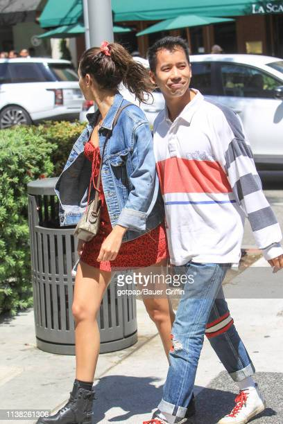 Jared Eng is seen on April 19 2019 in Los Angeles California