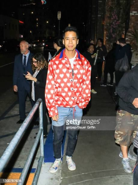 Jared Eng is seen on February 13 2020 in Los Angeles California
