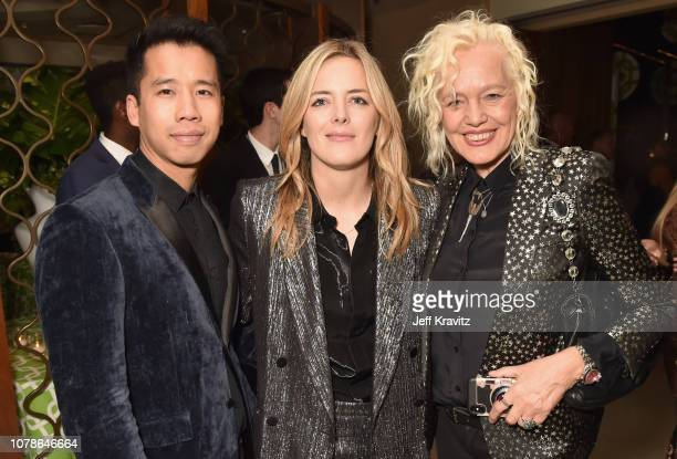 Jared Eng Ornela March and Ellen von Unwerth attends HBO's Official 2019 Golden Globe Awards After Party on January 6 2019 in Los Angeles California