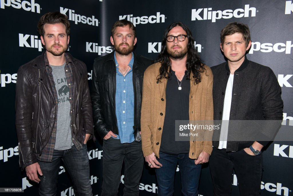 "Klipsch Audio And Kings Of Leon Host ""Mechanical Bull"" Listening Party"
