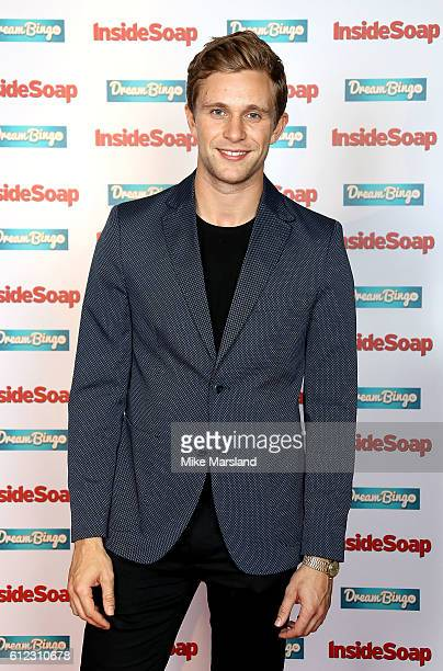 Jared Garfield attends the Inside Soap Awards at The Hippodrome on October 3 2016 in London England