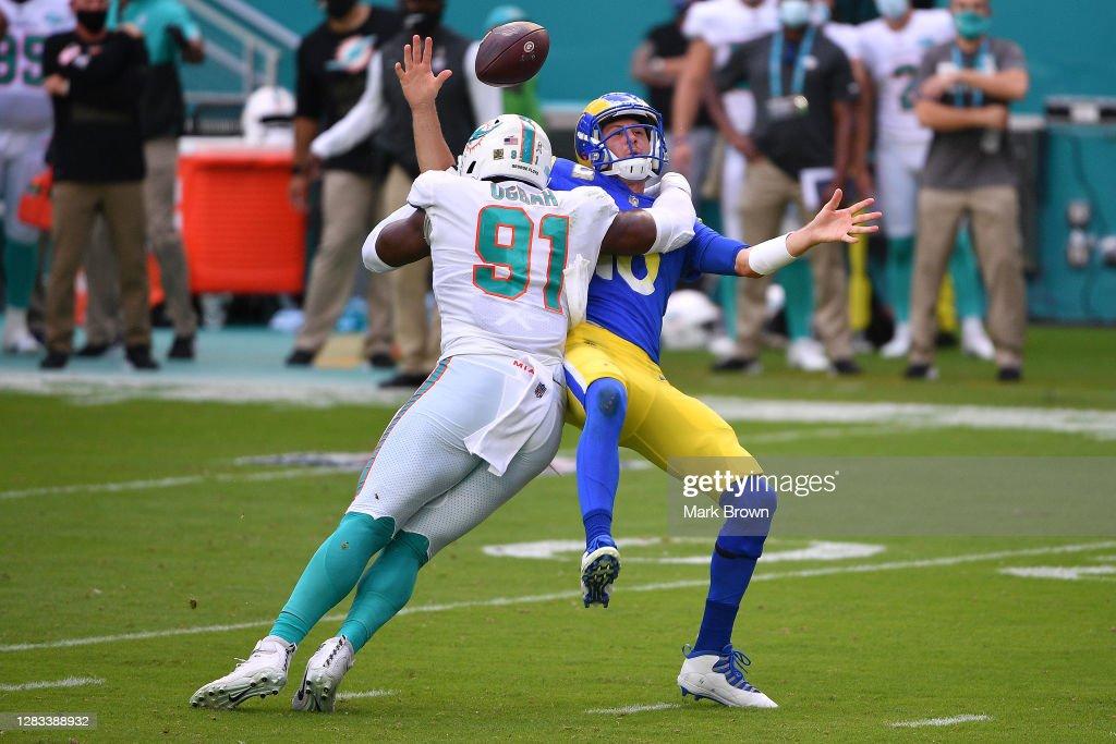 Los Angeles Rams v Miami Dolphins : News Photo
