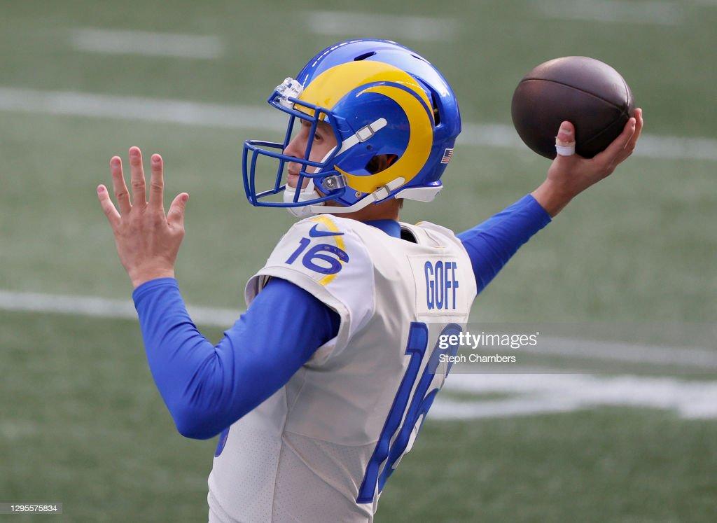 Wild Card Round - Los Angeles Rams v Seattle Seahawks : ニュース写真