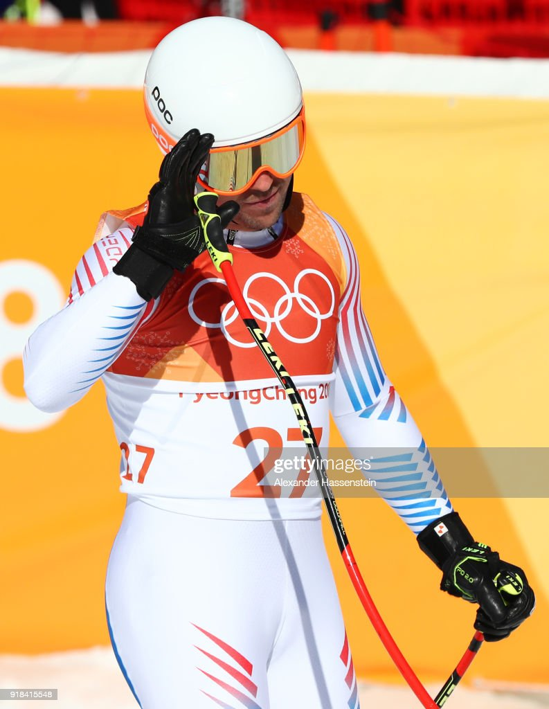 Alpine Skiing: Men's Downhill - Winter Olympics Day 6