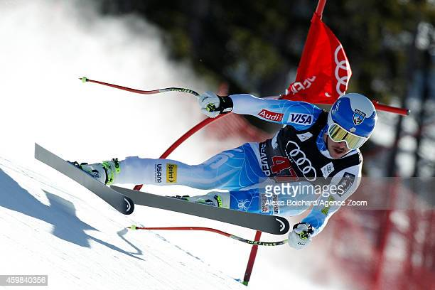 Jared Goldberg of the USA competes during the Audi FIS Alpine Ski World Cup Men's Downhill Training on December 02 2014 in Beaver Creek Colorado