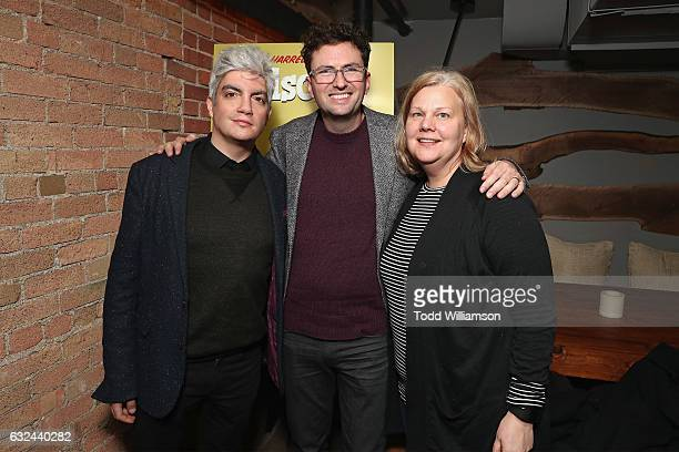 Jared Goldman Craig Johnson and Mary Jane Skalsk attend the after party for Sundance Premiere of FOX Searchlights' 'Wilson' on January 22 2017 in...