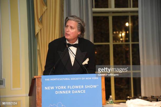 Jared Goss attends The Hort's New York Flower Show Dinner Dance at The Pierre Hotel on April 24 2018 in New York City