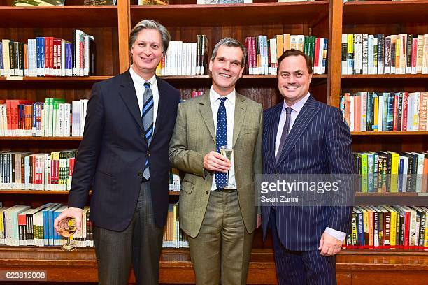 Jared Goss Ben Pentreath and ICAA President Peter Lyden attend Ben Pentreath Lecture at the Institute of Classical Architecture Art at General...