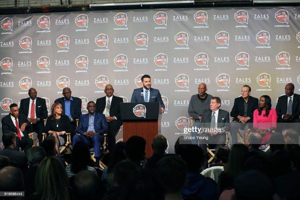 2018 Naismith Memorial Hall of Fame Press Conference