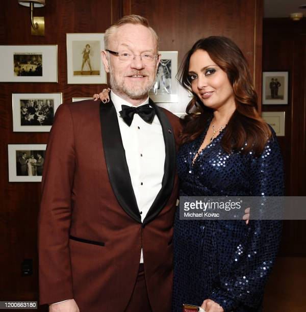 Jared Harris and Allegra Riggio attend 2020 Netflix SAG After Party at Sunset Tower on January 19 2020 in Los Angeles California