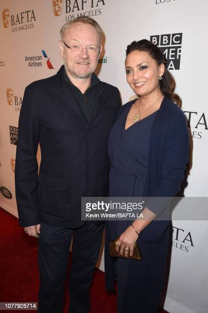 Jared Harris and Allegra Riggio attend The BAFTA Los Angeles Tea Party at Four Seasons Hotel Los Angeles at Beverly Hills on January 5 2019 in Los...