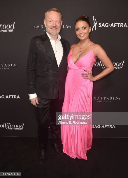 Jared Harris and Allegra Riggio attend The Hollywood Reporter And SAGAFTRA Emmy Award Contenders Annual Nominees Night on September 20 2019 in...