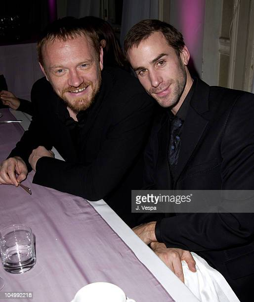 Jared Harris and Joseph Fiennes during De Beers LV Flagship Store Opening and Jewelry Launch at De Beers LV Flagship Store in London United Kingdom
