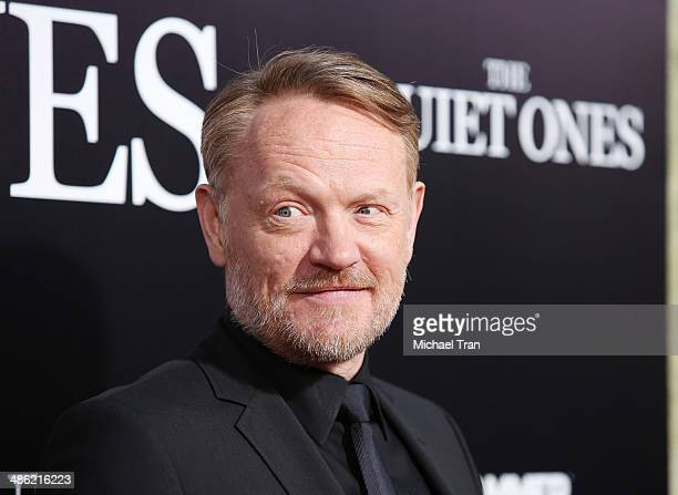 Jared Harris arrives at the Los Angeles Premiere of 'The Quiet Ones' held at The Theatre at Ace Hotel on April 22 2014 in Los Angeles California
