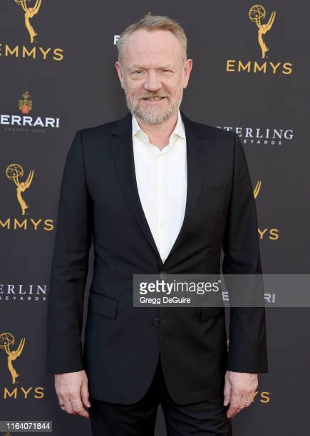 Jared Harris arrives at the Television Academy's Performers Peer Group Celebration at Saban Media Center on August 25 2019 in North Hollywood...