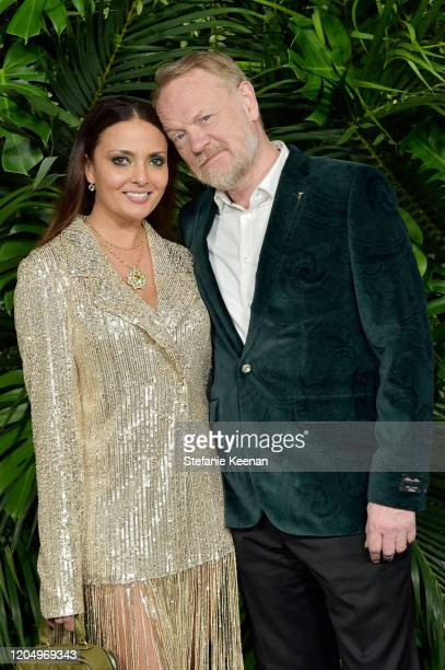 Jared Harris attends CHANEL and Charles Finch PreOscar Awards Dinner at Polo Lounge at The Beverly Hills Hotel on February 08 2020 in Beverly Hills...