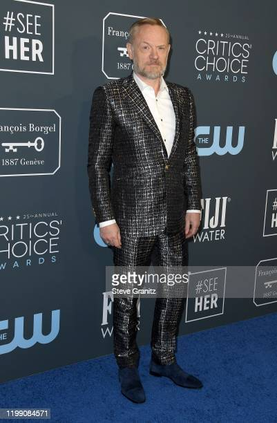Jared Harris attends the 25th Annual Critics' Choice Awards at Barker Hangar on January 12 2020 in Santa Monica California