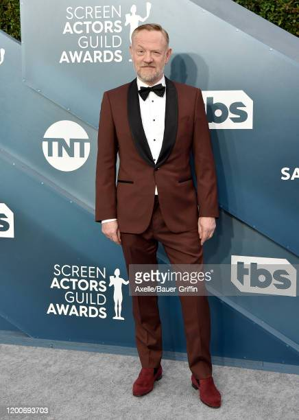 Jared Harris attends the 26th Annual Screen Actors Guild Awards at The Shrine Auditorium on January 19 2020 in Los Angeles California