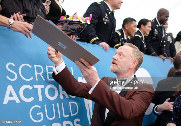 Jared Harris attends the 26th Annual Screen ActorsGuild Awards at The Shrine Auditorium on January 19 2020 in Los Angeles California 721407