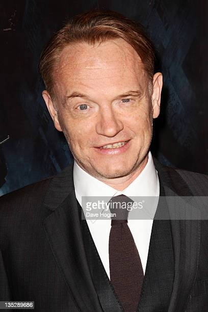 Jared Harris attends the European premiere of Sherlock Holmes A Game Of Shadows at The Empire Leicester Square on December 8 2011 in London United...