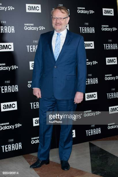 Jared Harris attends 'The Terror' AMC serie premiere in Madrid on March 20 2018
