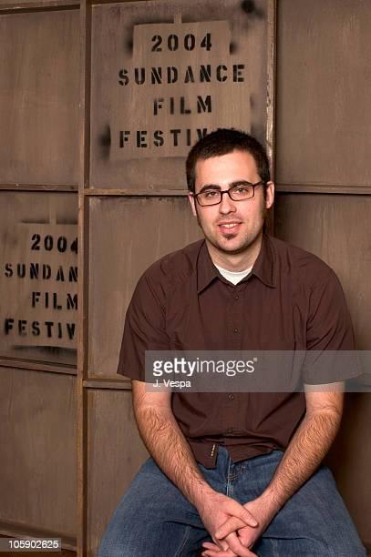 "Jared Hess, director during 2004 Sundance Film Festival - ""Napoleon Dynamite"" Portraits at HP Portrait Studio in Park City, Utah, United States."
