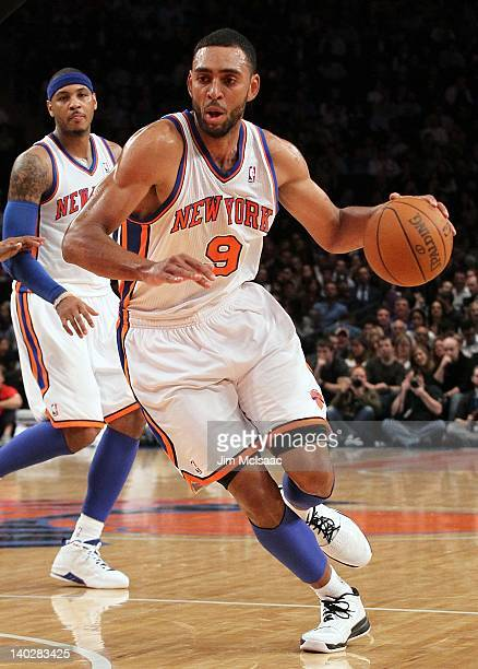 Jared Jeffries of the New York Knicks in action against the Detroit Pistons on January 31 2012 at Madison Square Garden in New York City The Knicks...