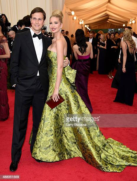 Jared Kushner and Ivanka Trump attend the Charles James Beyond Fashion Costume Institute Gala at the Metropolitan Museum of Art on May 5 2014 in New...