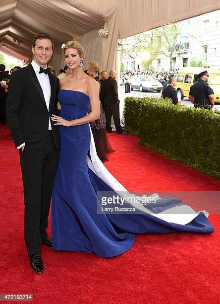 Jared Kushner and Ivanka Trump attend the China Through The Looking Glass Costume Institute Benefit Gala at the Metropolitan Museum of Art on May 4...