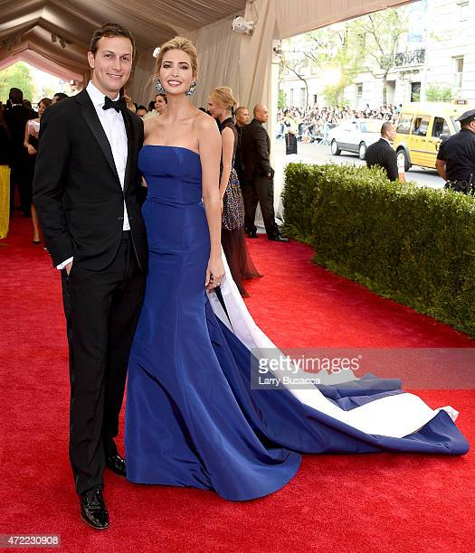 Jared Kushner and Ivanka Trump attend the 'China Through The Looking Glass' Costume Institute Benefit Gala at the Metropolitan Museum of Art on May 4...