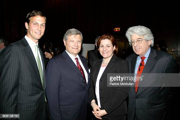 Jared Kushner Christine Quinn and Jay Kriegel attend Jared Kushner and Peter Kaplan Present the Relaunch of the New York Observer Website at Four...