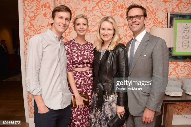 Jared Kushner Ivanka Trump Kathryn Hufschmid and James Murdoch attend 21st Century Fox presents a screening of XMen Days of Future Past at Crosby...