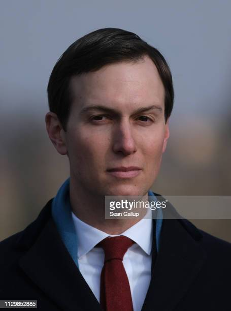 Jared Kushner Senior Advisor to US President Donald Trump visits the Auschwitz concentration camp memorial in a delegation with US Vice President...