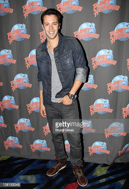 Jared Lee visits Planet Hollywood Times Square on September 21, 2011 in New York City.