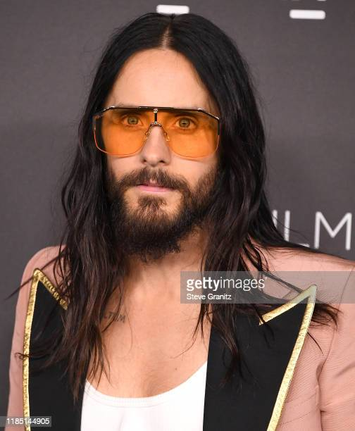 Jared Leto arrives at the 2019 LACMA Art + Film Gala Presented By Gucci at LACMA on November 02, 2019 in Los Angeles, California.
